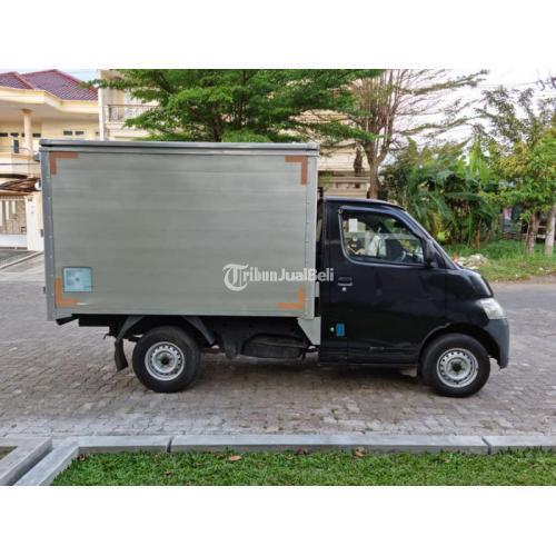 Mobil Daihatsu Gran Max 2014 Bekas Full Box Aluminium Siap Pakai - Semarang
