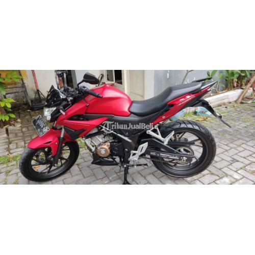 Motor Honda CBR 150 2020 Merah Bekas Pajak On Full Orisinil - Sidoarjo