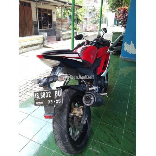Motor Yamaha R15 2015 Bekas Full Orisinil Mesin Halus Harga Nego - Sleman
