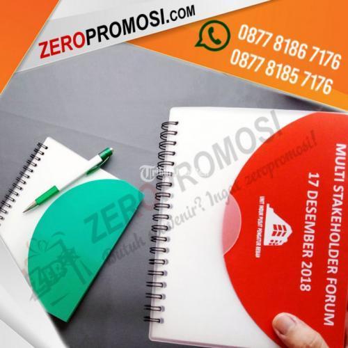 Souvenir Blocknote Spiral Perusahaan - Memo Plastik Besar 903 - Tangerang