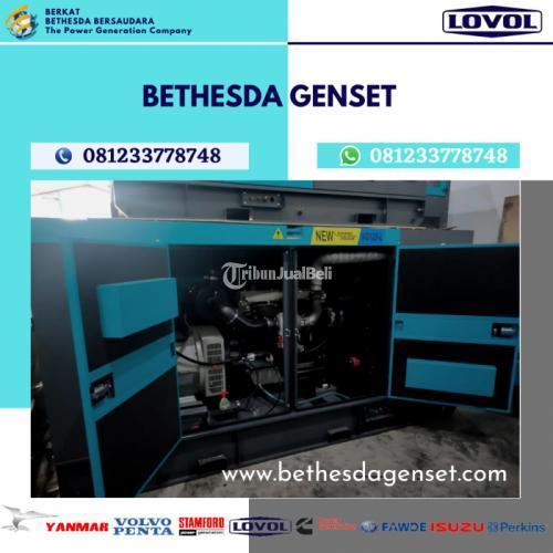 Genset Lovol 150 KVA Silent - Surabaya