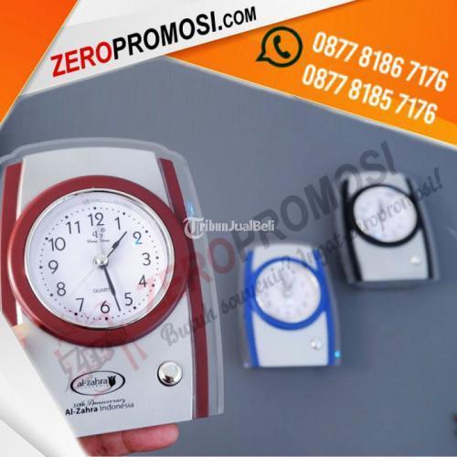 Souvenir Jam Meja Analog Promosi JMP-819 - Tangerang