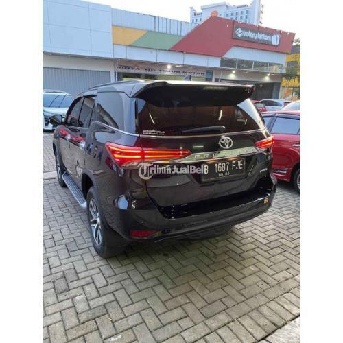 Mobil SUV Toyota Fortuner VRZ AT 2017 Hitam Bekas Normal Bisa Kredit - Bekasi