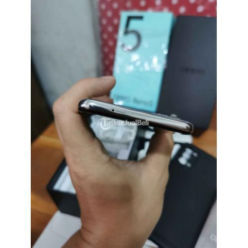 HP Oppo Reno 5 8/128GB Fullset Bekas Kondisi Normal Garansi - Solo