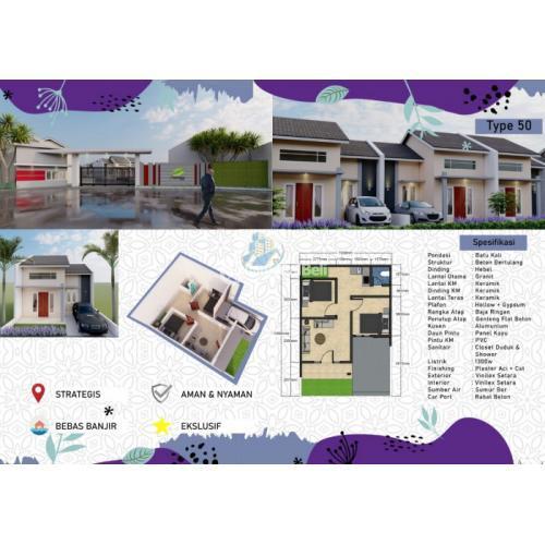 Dijual New Cluster 33 Unit Termurah di Kawasan Cimanggis Depok Cibubur - Depok