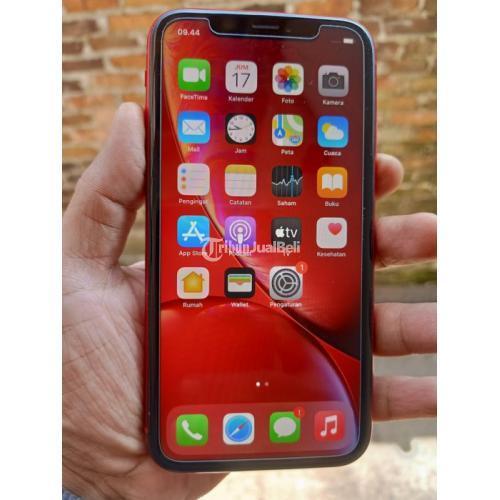 HP Apple iPhone XR 128GB iBox Bekas Fullset Mulus Nominus Harga Nego - Bandung