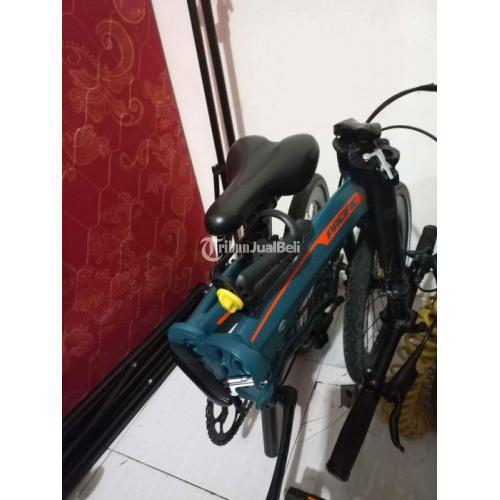 Sepeda Lipat Pasific Noris 2.8 Mulus Langka Bekas Full Original Like New - Bogor