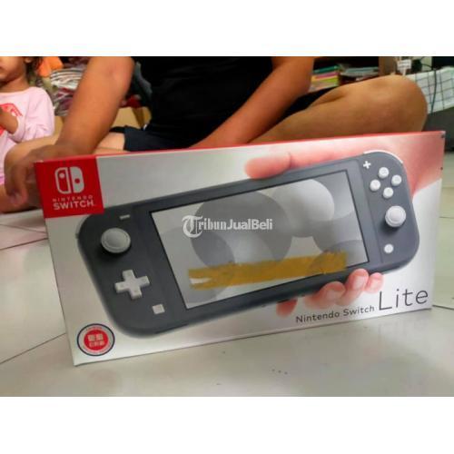 Konsol Game Nintendo Switch Lite Grey Barang Masih Baru - Sidoarjo