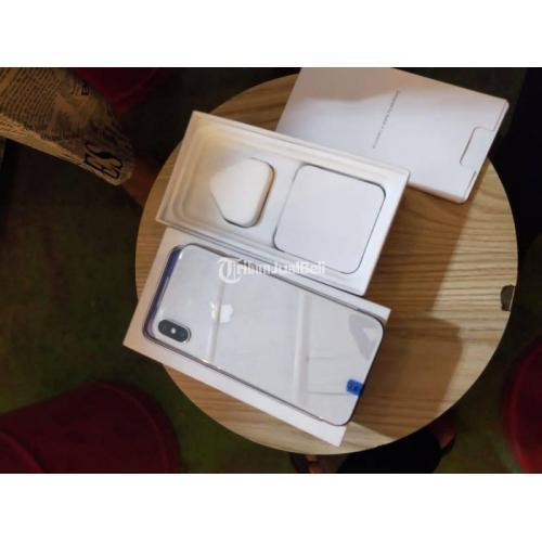 HP iPhone X 256GB White Bekas Kondisi Normal Mulus No Minus - Bekasi