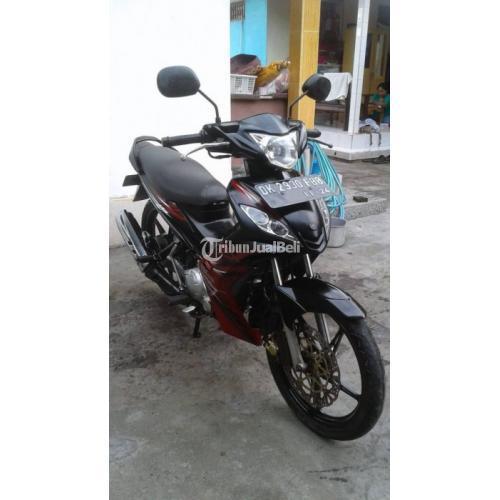 Motor Bebek Yamah Jupiter MX 2009 Bekas Mesin Normal Body Mulus - Badung