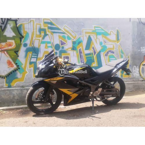 Motor Kawasaki Ninja RR New 2014 Bekas Orisinil Normal Surat Lengkap - Bandung