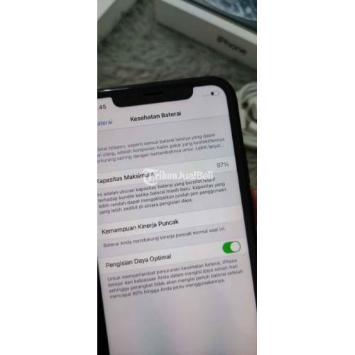 HP Apple iPhone XR 64GB Bekas iBox Garansi Panjang Fullset Original - Malang