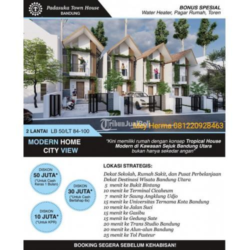 Dijual Padasuka Townhouse 2 Lantai Murah Berkelas Berkualitas Dikelasnya - Bandung