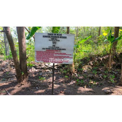 Dijual Tanah Luas 1.851m Pinggir Jalan Desa 2000m Dekat Pusat - Bantul