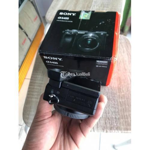 Kamera Sony A6400 4K Body Only Bekas Fullset Normal Garansi - Kebumen