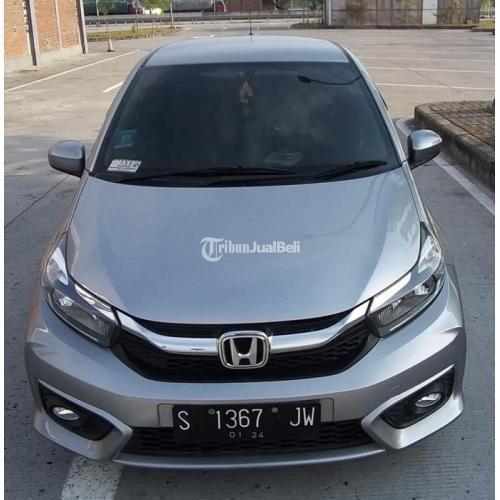 Mobil Honda All New Brio E Satya Manual 2018 Grey Bekas Full Orisinil - Sidoarjo