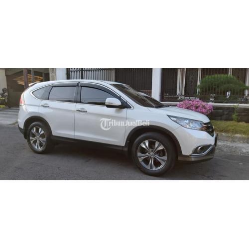 Mobil Honda CR-V 2014 Matic Putih Bekas Tangan 1 Full Orisinil - Surabaya