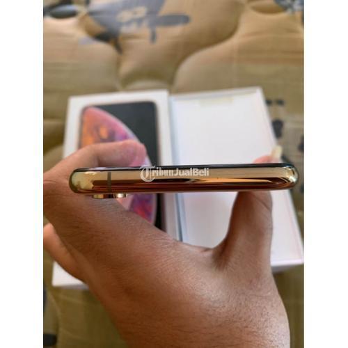 HP Phone XS 64GB Gold Fullset Bekas Original Mulus No Minus - Semarang