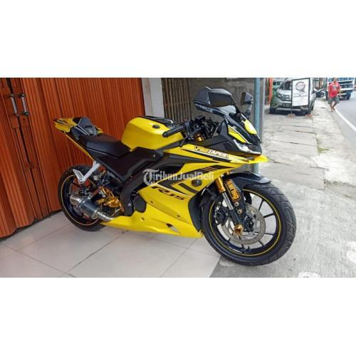 Motor Yamaha R15 V3 2018 Kuning Bekas Surat Lengkap Body Mulus - Jakarta Timur
