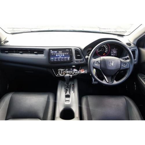 Mobil Honda HR-V 1.5 Tipe E AT 2018 Smartkey Bekas Pajak On Terawat - Surabaya