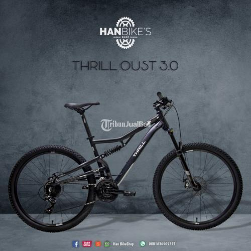 Sepeda MTB Thrill Oust 3.0 2021 New Frame Alloy Ready Stok - Malang