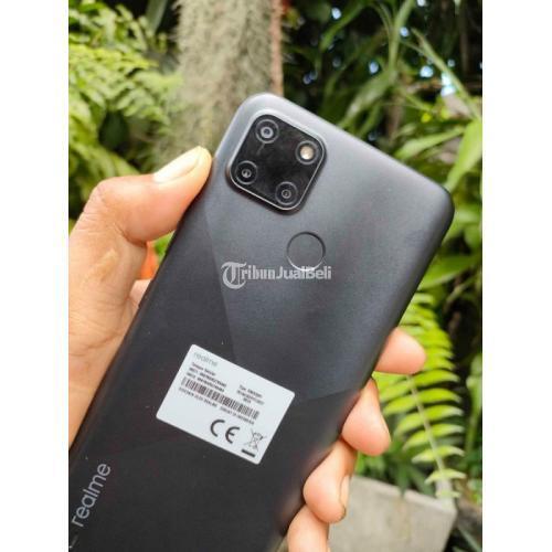 HP Realme C21Y Ram 3/32GB Bekas Fullset Mulus No Minus - Gianyar