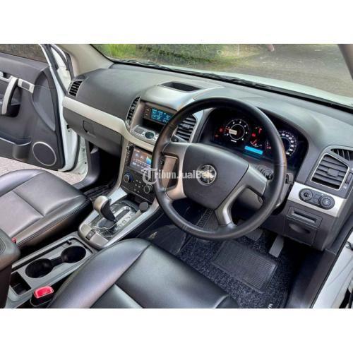 Mobil Chevrolet Captiva 2.0 FL Diesel Matic 2012 Bekas Pajak Panjang - Semarang