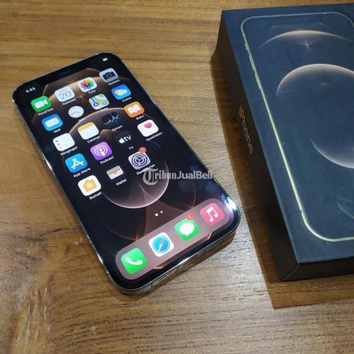HP Apple iPhone 12 Pro 256GB Fullset Bekas Normal iCloud Kosong - Semarang