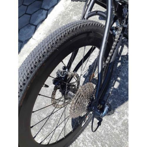 Sepeda Lipat FNHON Strorm Black 10 Speed Bekas Like New Harga Nego - Jogja