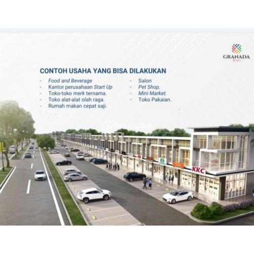 Dijual Ruko Granada LT.60m2  Investasi Terbaik Di Tengah - Kota Karawang