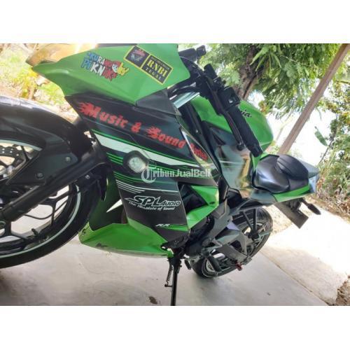 Motor Kawasaki Ninja 2014 Bekas Mesin Standar Surat Lengkap Harga Nego - Solo