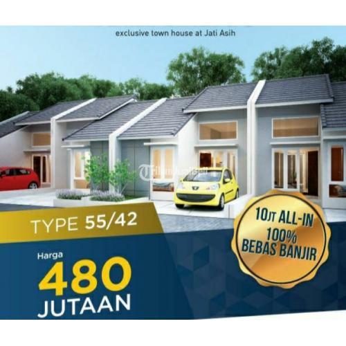 Dijual Rumah Murah Spek OK Full Bata Merah Dp 10 Free All In di Bojongkulur Jatiasi - Bekasi