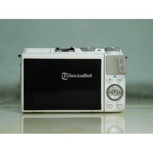 Kamera Canon EOS M3 KIT 18-55mm IS STM Fullset Bonus Adapter + Lensa - Bekasi