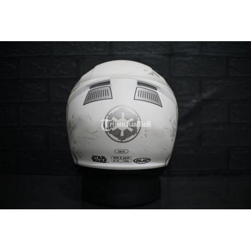 Helm HJC Starwars Edition Stormtrooper Mulus Size XS 54 Bekas - Tangerang