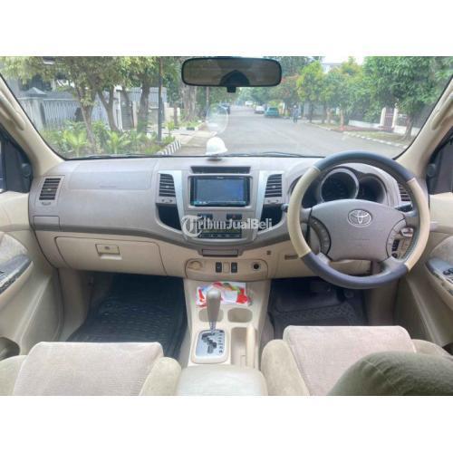 Mobil Toyota Fortuner G 2.7 Matik 2006 Bekas Terawat Pajak Panjang - Jakarta Tim
