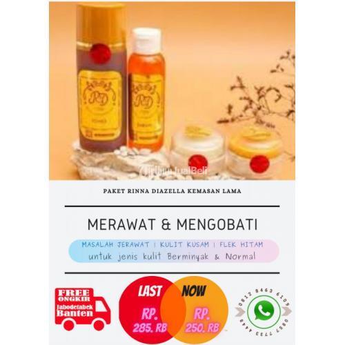 Satu Paket Skin Care Kulit Wajah Rinna Diazella Skin Care Safety Tanpa Mercury - Jakarta Utara