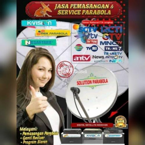 Jasa pasang parabola dan antena tv digital bebas iuran bulanan Bogor dan sekitarnya - Jakarta Barat