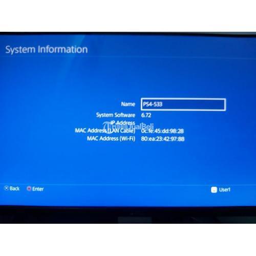 Konsol Game Sony PS4 Fat 1206 Firmware 6.72 Bekas Lengkap - Jogja