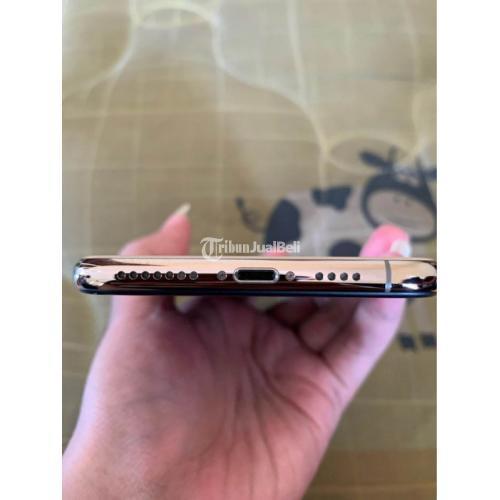 HP iPhone XS Max 256GB Gold Fullset Bekas Fungsi Normal No Minsu - Semarang