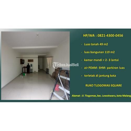 Dijual Ruko Lokasi Strategis di Jantung Kota LT.49m2 - Kota Malang