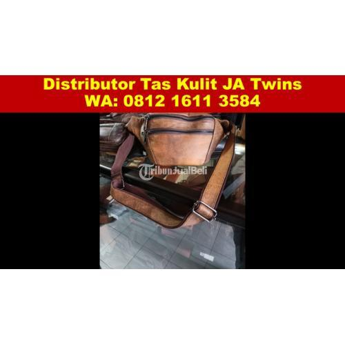 Distributor Tas Kulit Cowok Terbaru JA Twins Surabaya - Sidoarjo