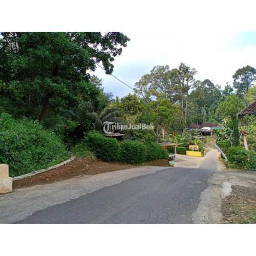 Dijual Tanah Luas 1531m² Strategis Tepi Jl Raya Kerjo Ngargoyoso - Karanganyar