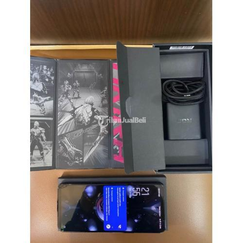 HP ASUS ROG Phone 5 RAM 12/128GB Fullet Bekas Garansi - Semarang