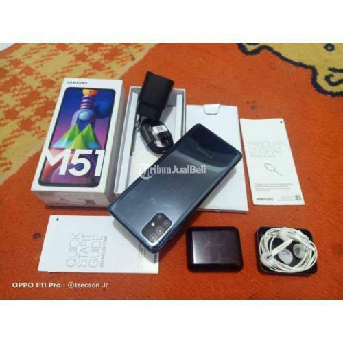 HP Samsung M51 Ram 8/128GB Fullset Bekas Like New Nominus Nego - Bandung