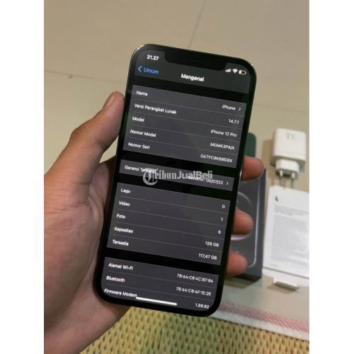 HP Apple Iphone 12 Pro 128gb iBox Juli 2022 Bekas Like New Nominus - Boyolali