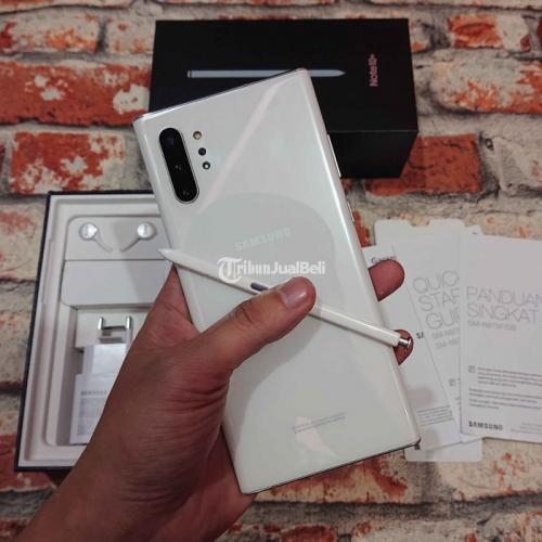 HP Samsung Note 10 Plus 512Gb SEIN Fullset Bekas Mulus Nominus - Malang