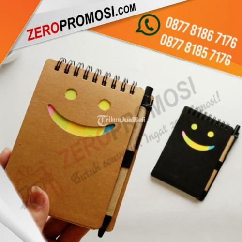 Souvenir Memo Smile 906 - Blocknote Promosi - Tangerang
