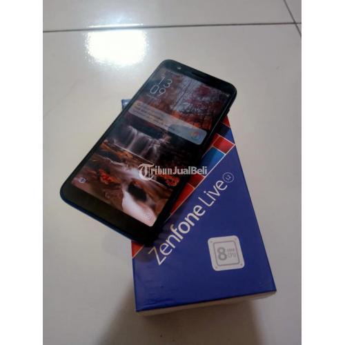 HP Asus Zenfone Live L2 Bekas Ram 2/16GB Fullset Normal No Minus- Solo