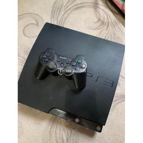 Konsol Game Sony Playstation 3 Slim 250GB Bekas Normal Fullset - Sidoarjo