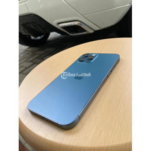 HP Iphone 12 Promax 256GB Fullset Ori Bekas Normal All Provider - Mojokerto